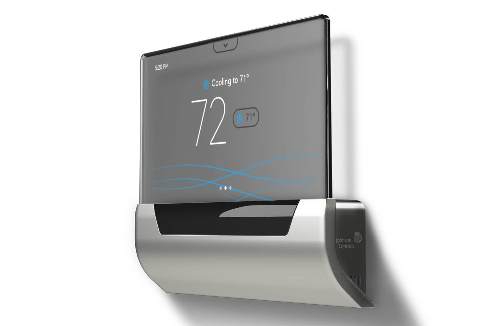 Smart Thermostat touch screen