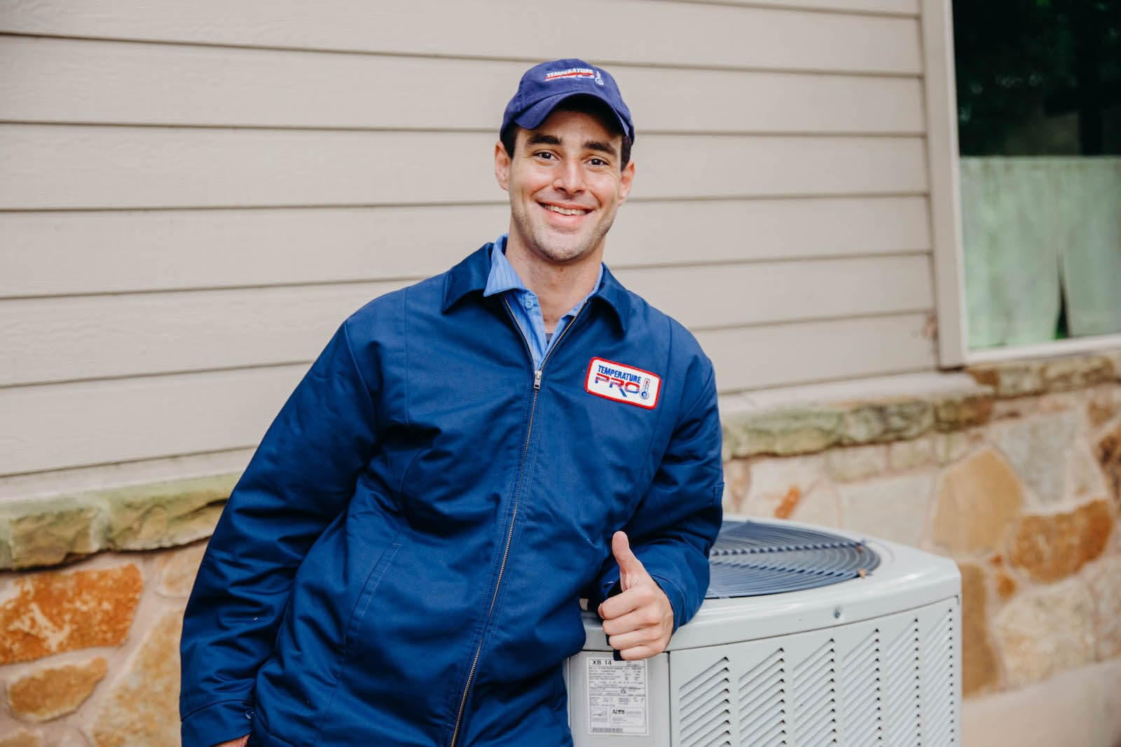 HVAC Technician Outdoor Unit