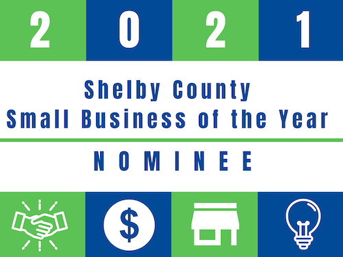 2021 shelby county small business of the year nominee
