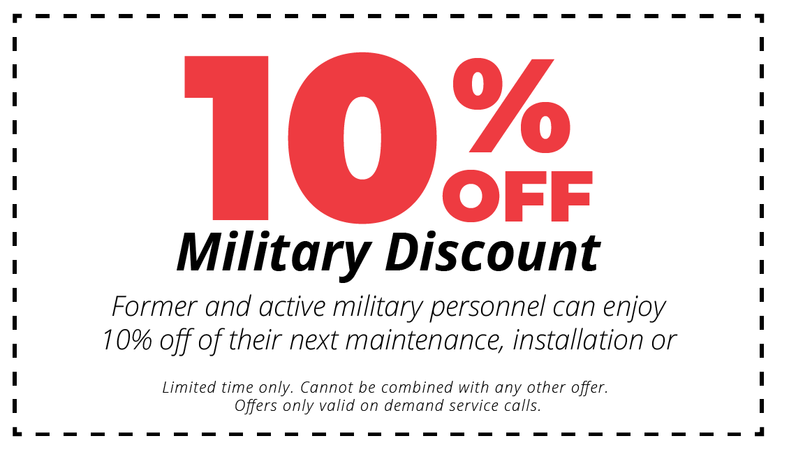 10% coupon military discount