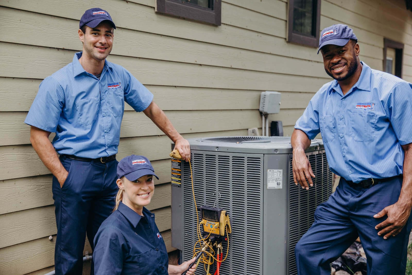 Team of HVAC Technicians